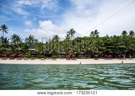 Thong Nai Pan Bay Chill Beach Koh Phangan Tropical Island paradise of Thailand