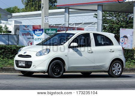 Private Eco Car, Nissan March.