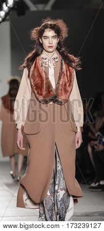 New York Fashion Week Fw 2017 - Katty Xiomara Collection