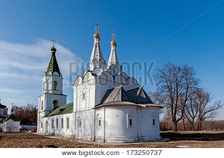 the Church in the Ryazan historical and architectural complex of the Kremlin