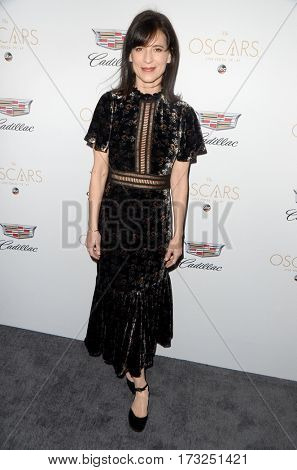 LOS ANGELES - FEB 23:  Perrey Reeves at the Cadillac Hosts their Annual Oscar Week Soiree at the Chateau Marmont on February 23, 2017 in West Hollywood, CA