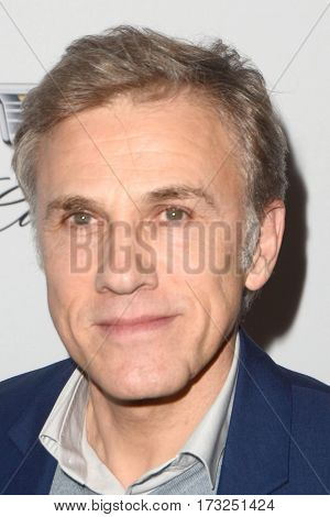 LOS ANGELES - FEB 23:  Christoph Waltz at the Cadillac Hosts their Annual Oscar Week Soiree at the Chateau Marmont on February 23, 2017 in West Hollywood, CA