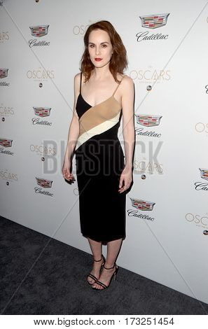 LOS ANGELES - FEB 23:  Michelle Dockery at the Cadillac Hosts their Annual Oscar Week Soiree at the Chateau Marmont on February 23, 2017 in West Hollywood, CA