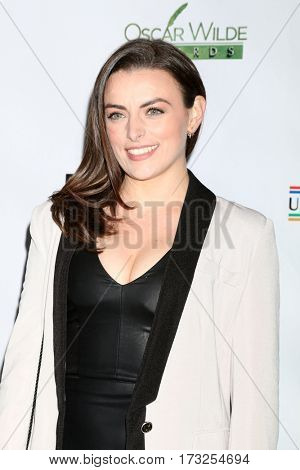 LOS ANGELES - FEB 23:  Nora-Jane Noone at the 12th Annual Oscar Wilde Awards at Bad Robot Studios on February 23, 2017 in Santa Monica, CA