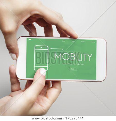 Mobility Modern Technology  Webpage Website