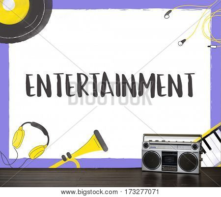 Entertainment audio streaming music recreational