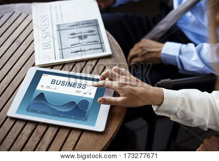 Analysis Business Summary Graph Result Graphic