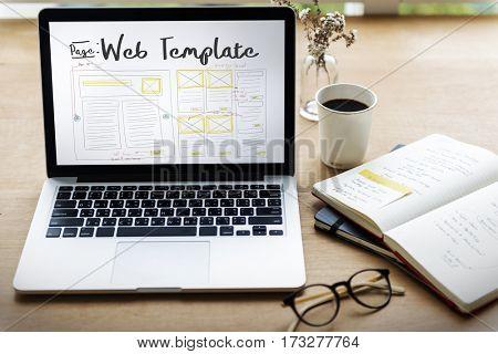 Develop Coding Web Design Coding Web Template