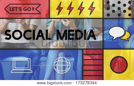 Social Media Graphic Communication Icon