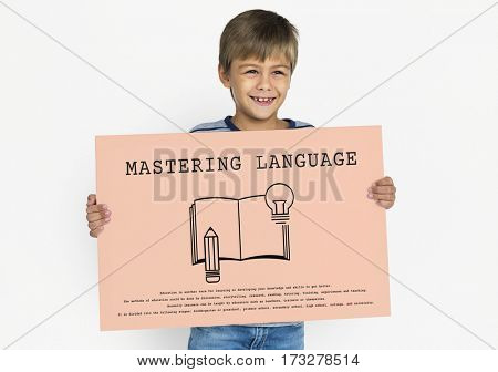Language Learning Mastering Education Concept
