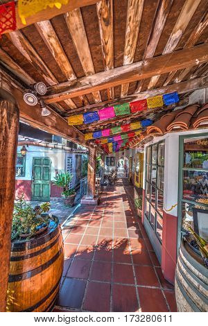 Aisle in Old Town San Diego California