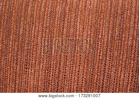 Beautiful old brown cloth background texture in high resolution