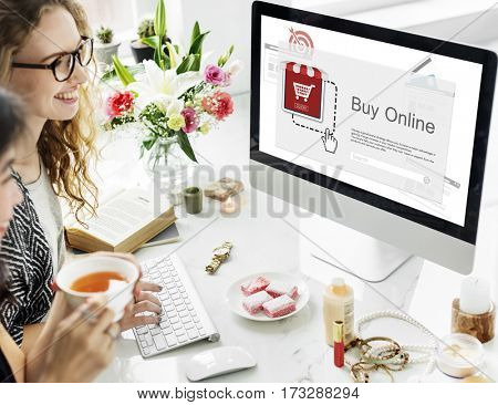 Online Payment Purchase E-Commerce Buy Icon
