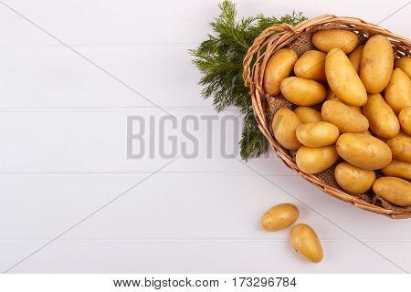Raw Baby Potatoes