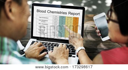 Blood Cholesterol Report Test Healthcare