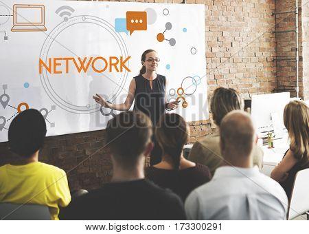Internet Network Technology Social