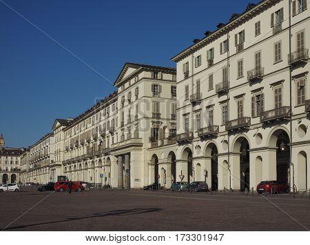 Piazza Vittorio In Turin