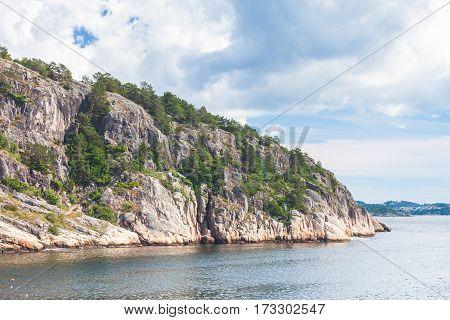 Norwegian Stone Coastline