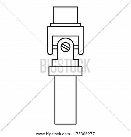 Mechanic detail icon. Outline illustration of mechanic detail vector icon for web