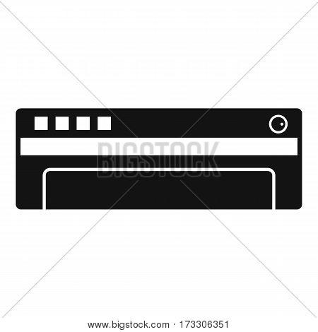 Conditioner icon. Simple illustration of conditioner vector icon for web