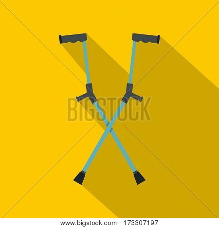 Other crutches icon. Flat illustration of other crutches vector icon for web