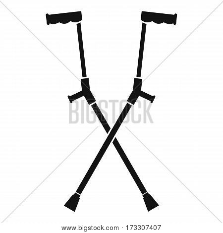 Other crutches icon. Simple illustration of other crutches vector icon for web