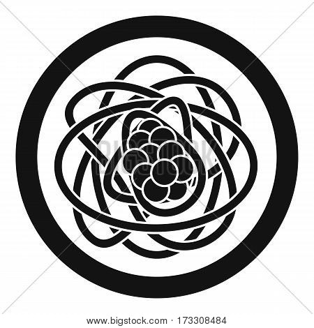 Asian noodles icon. Simple illustration of asian noodles vector icon for web