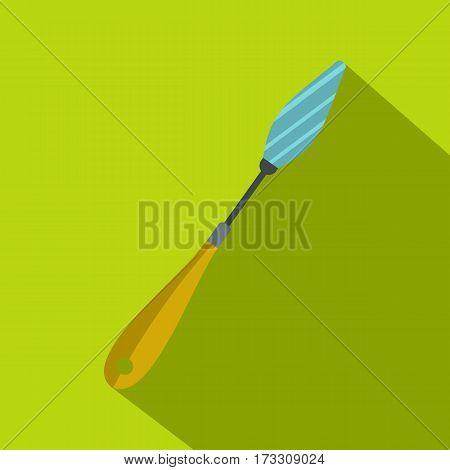 Scraper icon. Flat illustration of scraper vector icon for web