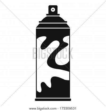 Colored spray icon. Simple illustration of colored spray vector icon for web