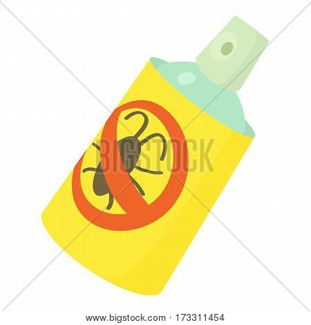 Insecticide spray icon. Cartoon illustration of insecticide spray vector icon for web