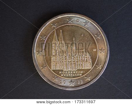 2 Euro Coin, European Union, Germany