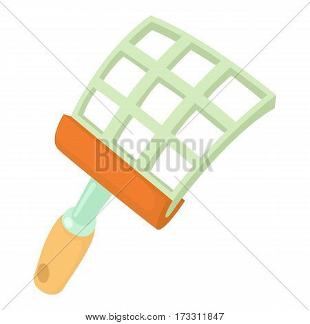 Swatter icon. Cartoon illustration of swatter vector icon for web