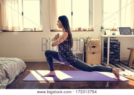 Yoga is a good exercise for making balance.