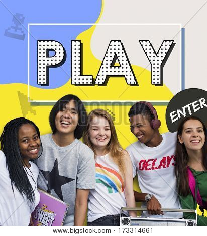 Play Education Enjoyment Games Learn