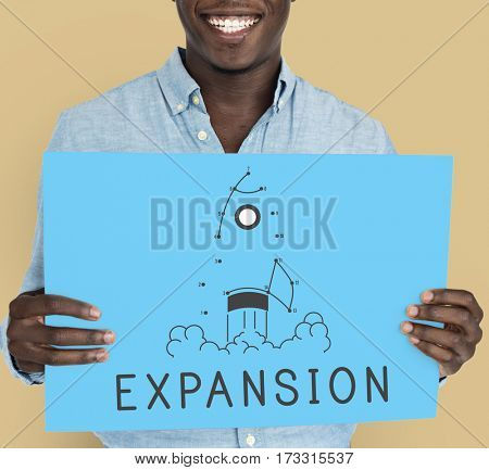 Expansion Impossible Challenge Business Icon