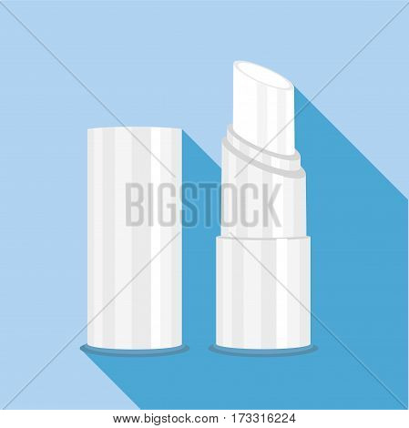 Chapstick icon. Flat illustration of chapstick vector icon for web