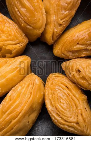 chirote or Chiroti is a delicacy predominantly served in Karnataka and Maharastra