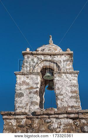 Church in remote area of Altiplano Bolivea South America