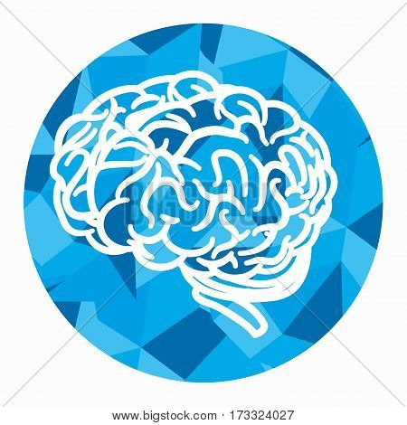 brain storming concept icon vector illustration design