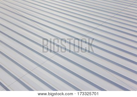 Corrugated metal sheet roof top steel texture