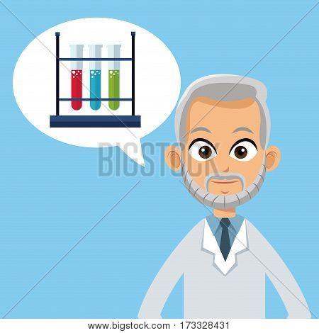 doctor medical care bubble speech vector illustration eps 10
