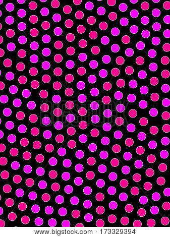 Discs Backdrop And Flat Pattern For Futuristic Design