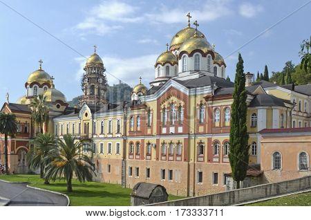 New Athos of St. Simon the Canaanite monastery. Abkhazia
