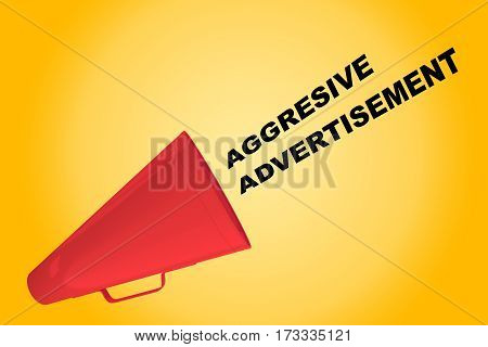 Aggressive Advertisement Concept