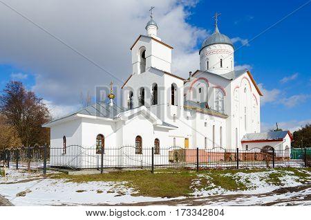 Church of St. Prince Alexander Nevsky in recreation area