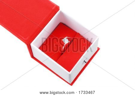 Ring In A Red Box