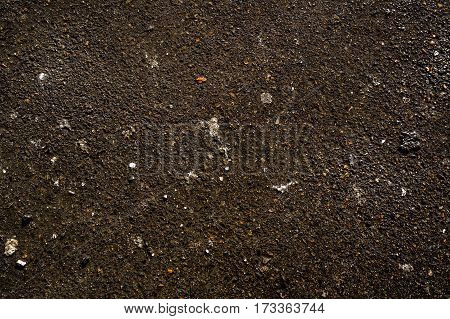 Asphalt, asphalt texture, wet asphalt, after the rain, asphalt closeup, asphalt road