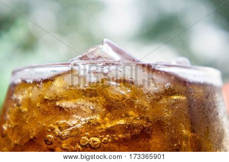 the Soft drinks Sweet thirst-quenching drinks popular.