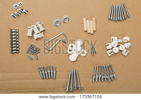 hardware set for diy furniture