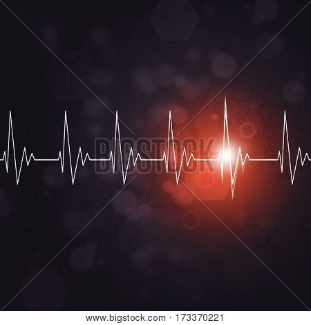 Heart Beat Medocal Background